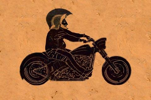 motorbike black figure - Copy